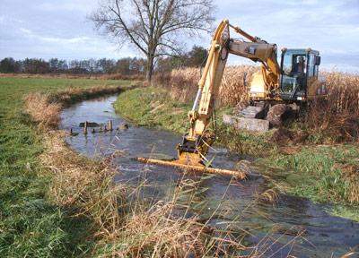 Wasser- und Bodenverband Uelzen - Gewässerunterhaltung