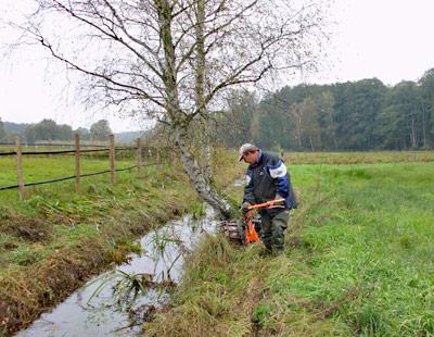 Wasser- und Bodenverband Uelzen - Unterhaltung - Wasser- und Bodenverbände